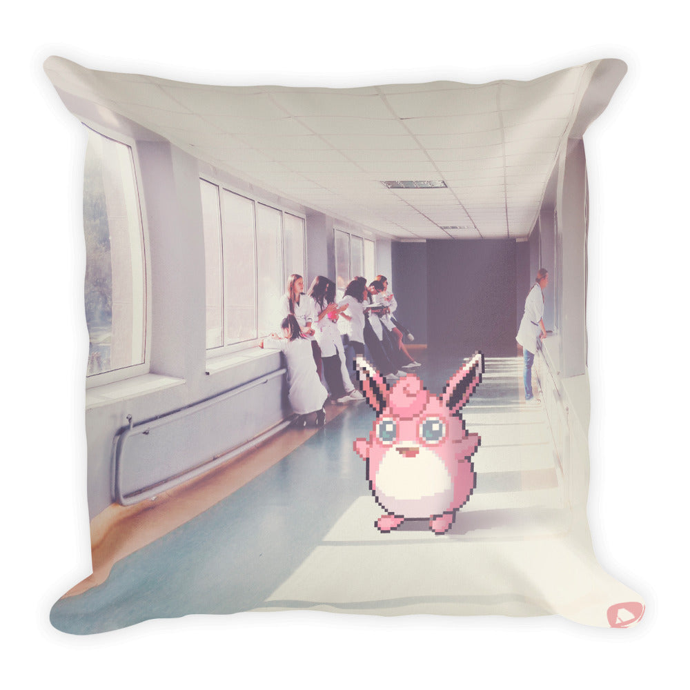 Pixelmon Square Pillow - Wigglytuff