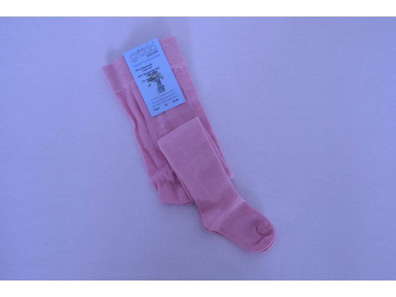 Merino Wool Tights blush pink