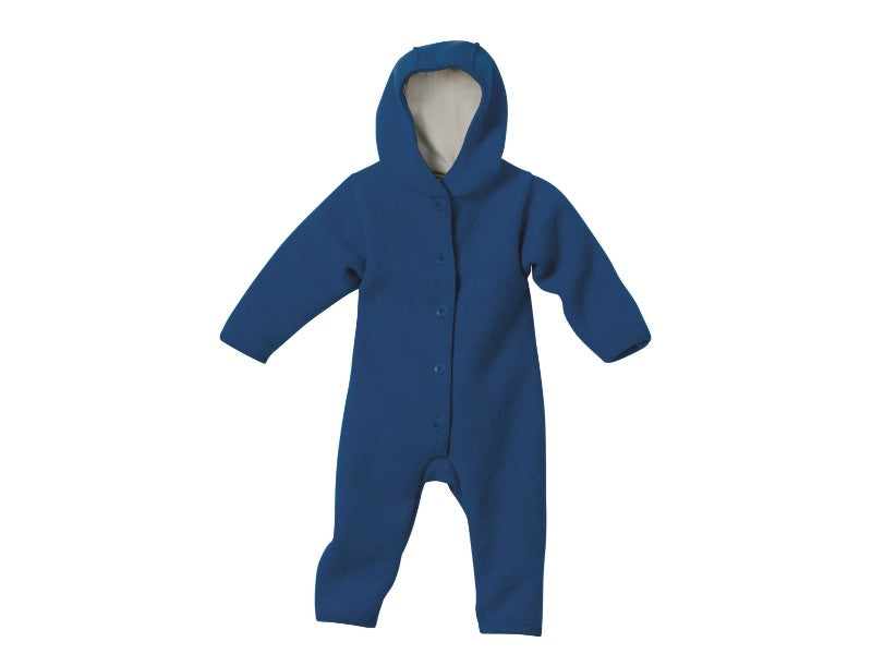 Boiled Wool Overall (navy - darker than in image)