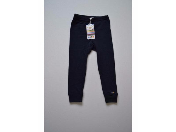 Organic Merino Wool Leggings Navy