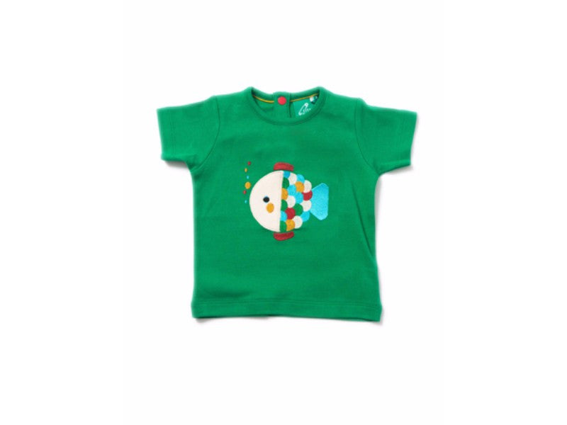 Rainbow Fish Applique Tee