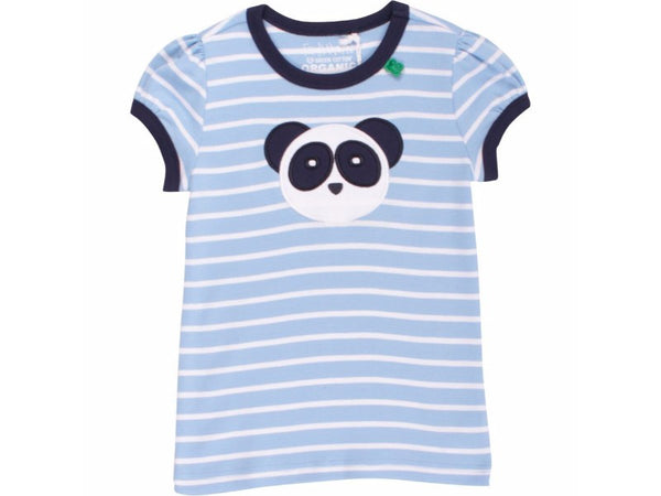 Panda striped T-shirt