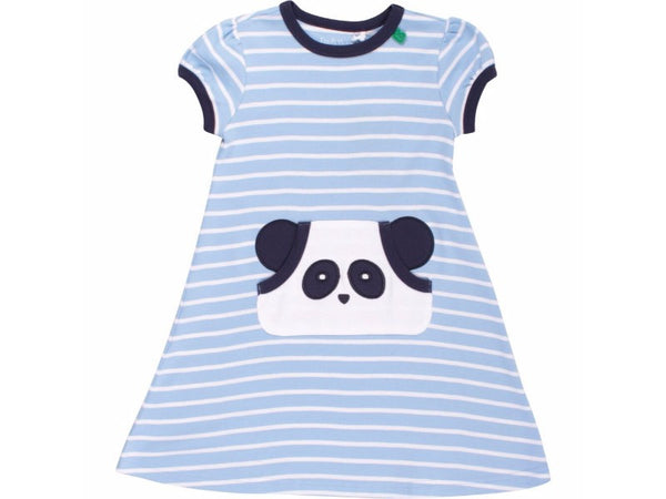 Panda Stripe Dress