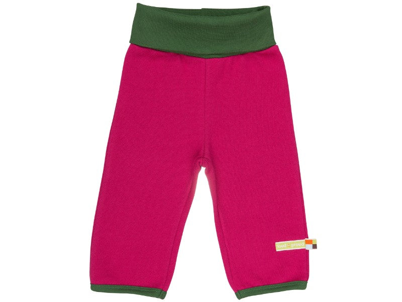 Baby/Toddler Cotton/Wool Pants Berry