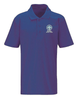 Moulton Nursery School Polo Shirt Purple