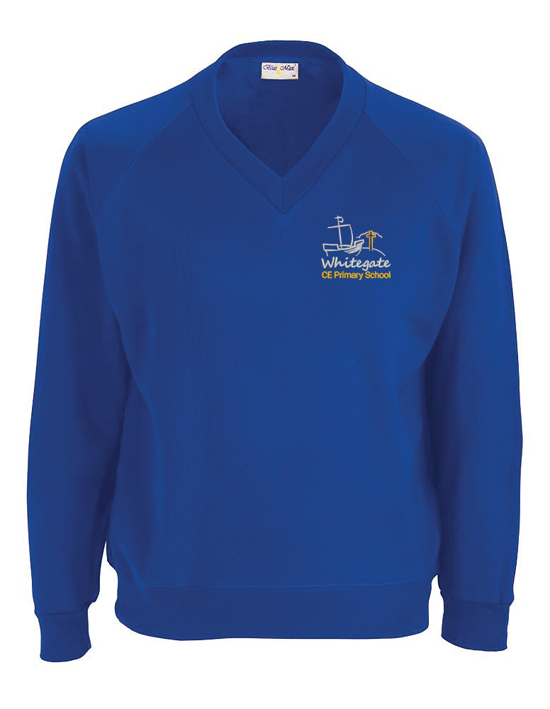 Whitegate Primary School V Neck Sweatshirt