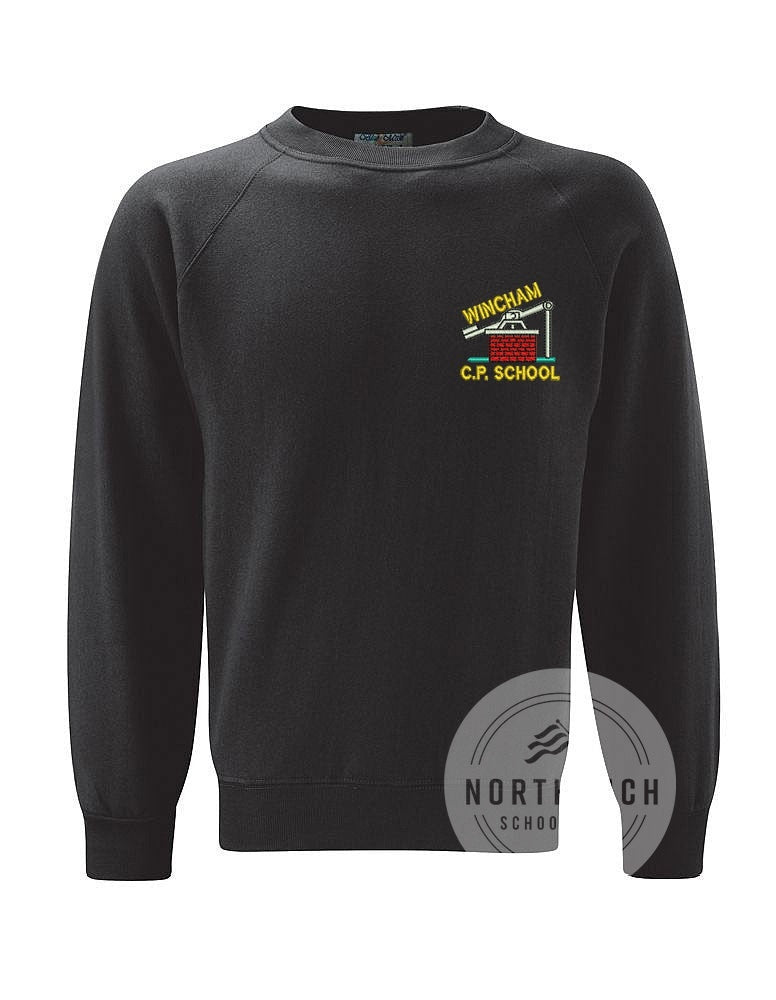 Wincham Community Primary School Black Sweatshirt