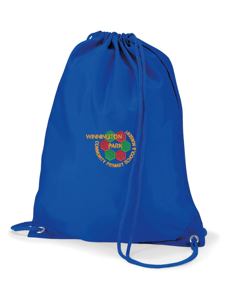 Winnington Park Primary School PE Bag (Blue)