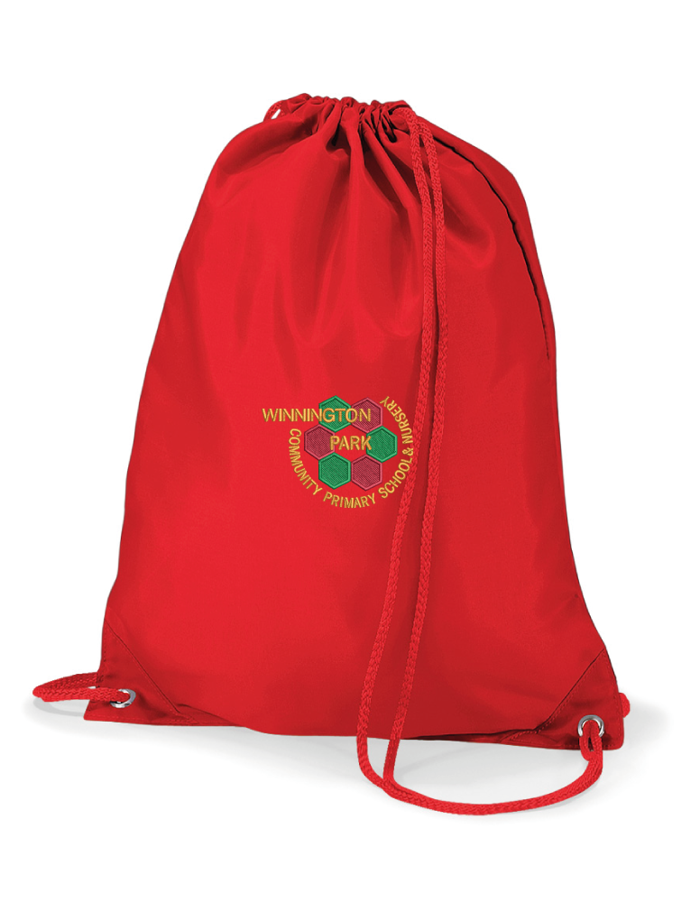 Winnington Park Primary School PE Bag (Red)