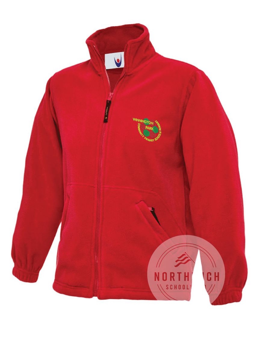 Winnington Park Primary School Fleece - Red