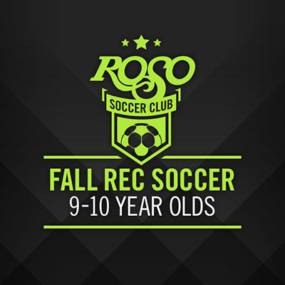 Fall Recreation 9-10 Yr. Old League