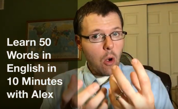 How to Say 50 Common Words in English in 10 Minutes