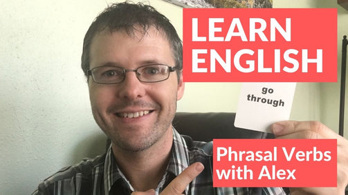 Learn English Online with Teacher Alex with free video lessons on YouTube.