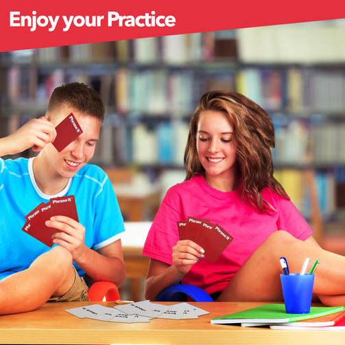 phrase it esl card game and activity why phrase it