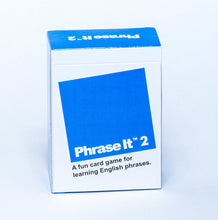 Phrase It 2 English Language Learning Card Game