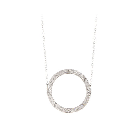 N-193 | Small Open Coin Necklace