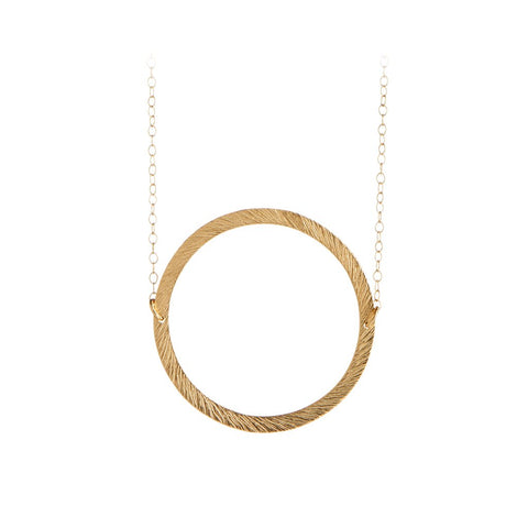 N-194 | Open Coin Necklace