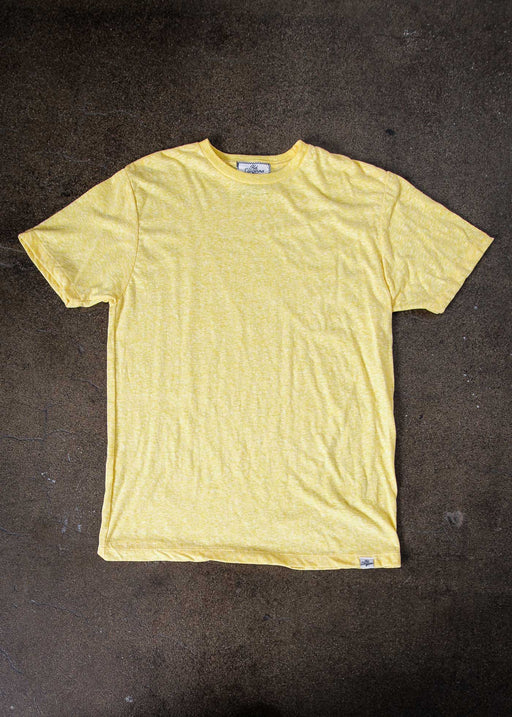Men's Vintage Yellow Tee