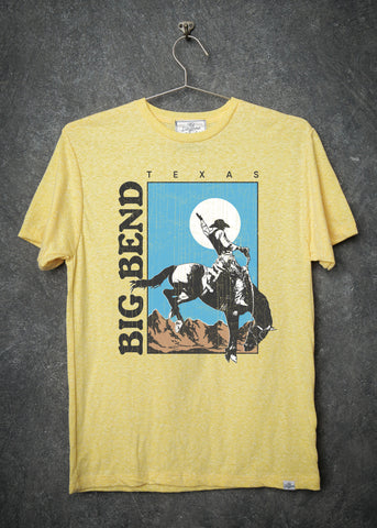 Big Bend Men's Vintage Yellow T-Shirt