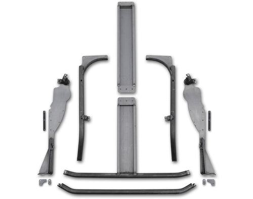 11-18 JK Trail Cage With Grab Handles 18-18-015-G Poison Spyder