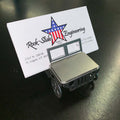 Jeep Business Card Holder Flat Stainless Steel Bendy Jeeps Rock Slide Engineering