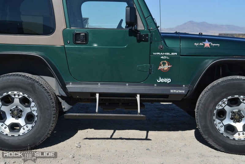 Step Slider Kit for 97-06 Jeep Wrangler TJ Rock Slide Engineering