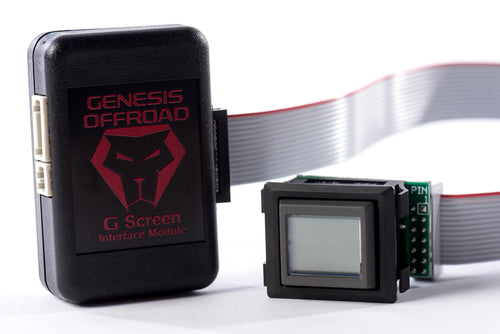 G Screen Dual Battery Monitoring System W/Wire Harness