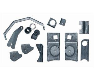 TJ Axle Bracket Kit Rear 97-02 Wrangler TJ Rubicon Express