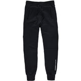 Branded 44LDN Logo Slim Fit Sweat Pants <br> Pirate Black