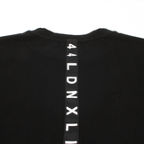 44LDN Tape T-Shirt <br> Pirate Black