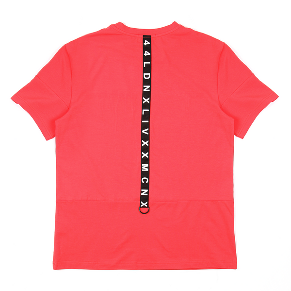 44LDN Tape T-Shirt <br> Faded Red