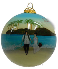 JUST MAUID CHRISTMAS ORNAMENT