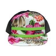 FLORAL MESH CAP WITH MAUI