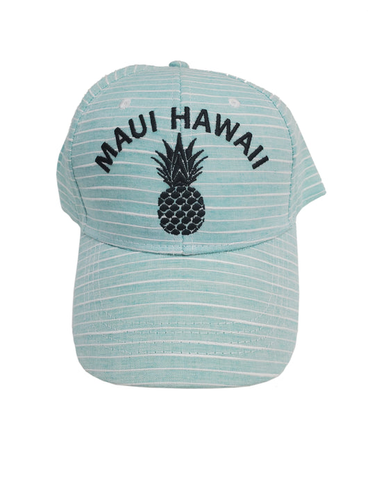 PINEAPPLE STRIPPED CAP