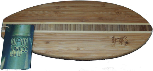 SURBOARD BAMBOO CUTTING BOARD