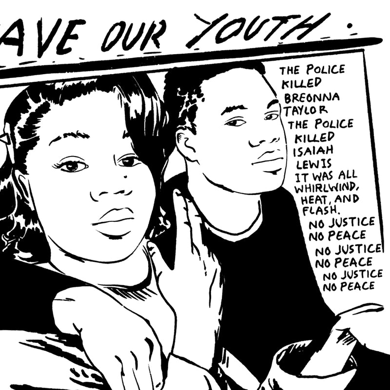 Save Our Youth - Unisex Black