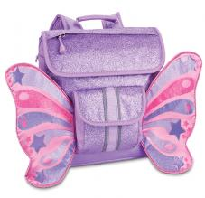 "Bixbee ""Sparkalicious"" Butterflyer Backpack Small - Purple 2 To 5 Years - Three Bears Kids"