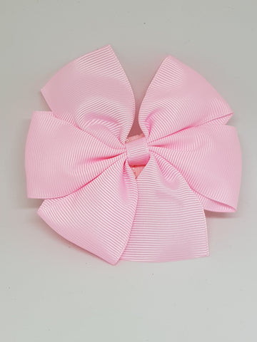 Flower With Thin Headband - Baby Pink
