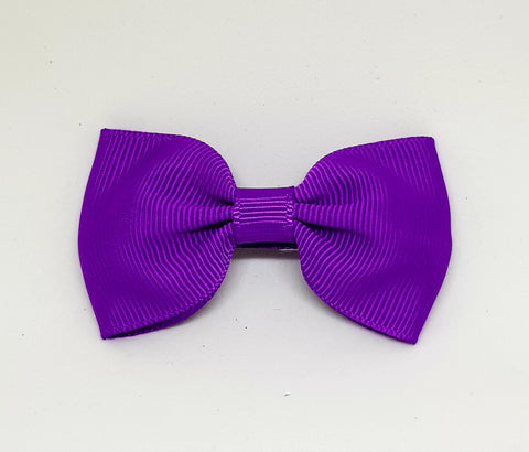 Bow Hair Clip - Purple - Three Bears Kids