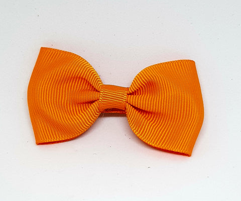 Bow Hair Clip - Orange - Three Bears Kids