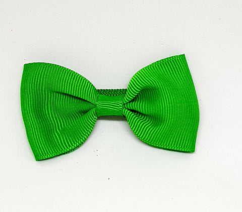 Bow Hair Clip - Emerald Green - Three Bears Kids