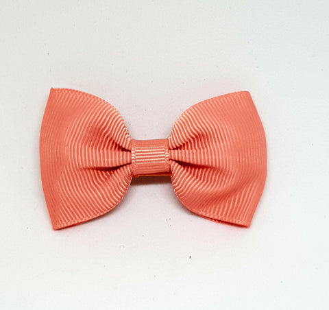 Bow Hair Clip - Blush - Three Bears Kids