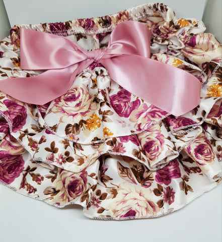 Pink Satin Bloomers