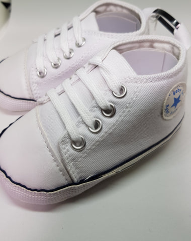 White Baby Sneakers
