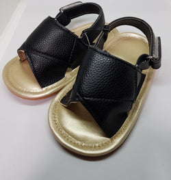 Black Baby Sandals - Three Bears Kids