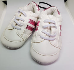 Baby Sneakers - Pink Stripes - Three Bears Kids