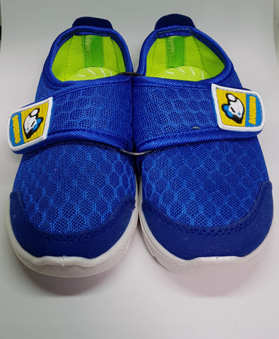 Blue Velcro Sneakers - Three Bears Kids