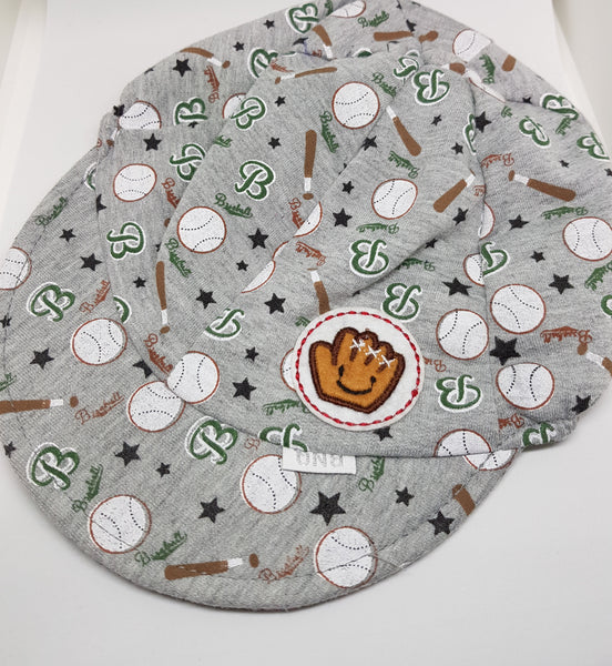 Baby Soft Baseball Cap - Grey - Three Bears Kids