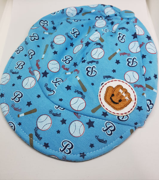 Baby Soft Baseball Cap - Blue - Three Bears Kids