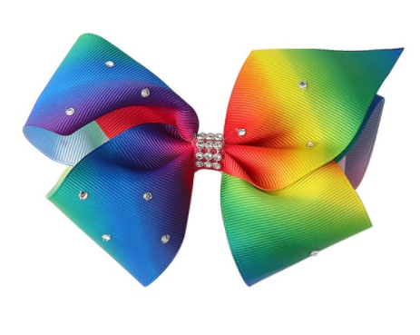 Big Bow 5 inch/12 cm Rainbow - Three Bears Kids